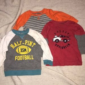 3 18 month boys shirts